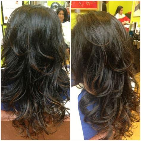 digital perm    hair hair curly hair