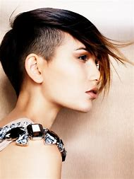 Short Hair Shaved Sides Hairstyles Women