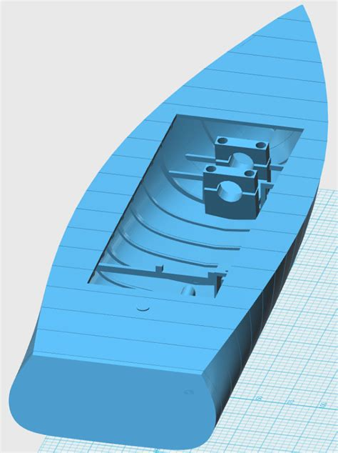 3d Printed Boat by Australian Designs 3d Prints A Working Rc Boat On