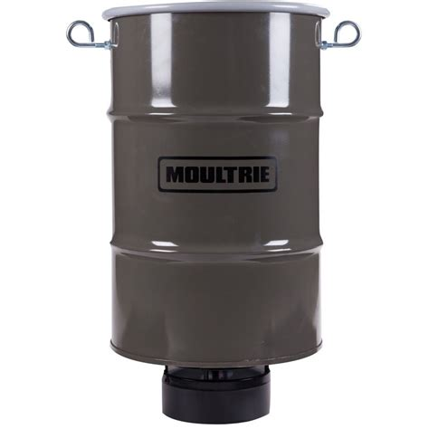Moultrie Hanging Feeder by Moultrie Pro Magnum Hanging Barrel Feeder 30 Gal