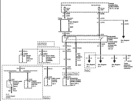 1996 F350 Parking Light Wiring Diagram by Any Tips For Replacing Shift Lock Solenoid Ford Truck