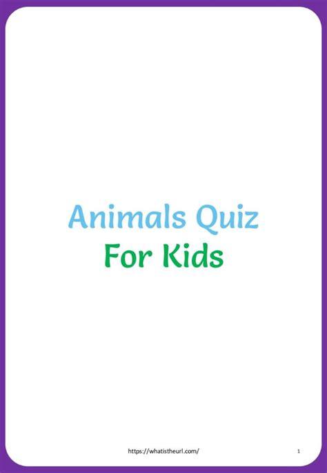 animals quiz  home teacher