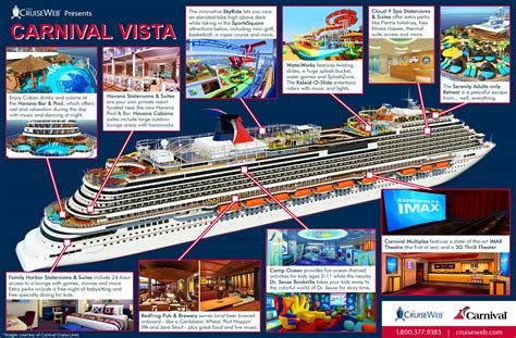 Carnival Vista Boat by Infographic Tour The New Carnival Vista Cruise Ship The