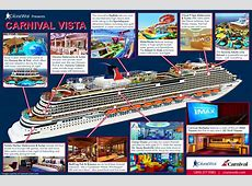 Infographic Tour the NEW Carnival Vista Cruise Ship The