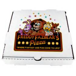 Pizza Freddy Box Fazbear