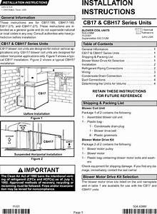 Lennox Air Handler  Indoor Blower U0026evap  Manual L0805359