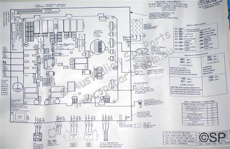 Dimension Wiring Diagram by Dimension One Spas Gecko Mspa Mp D12 Pcb 01710 1010e
