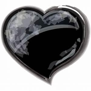 Heart Black Icon - Valentine Icons - SoftIcons.com