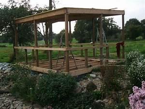 Construire Sa Pergola : construire pergola construire une pergola en bois couverte construire une pergola maisonapart ~ Dode.kayakingforconservation.com Idées de Décoration