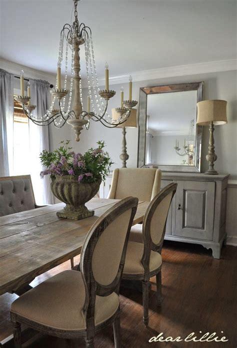 dear lillie  updated dining room    farmhouse