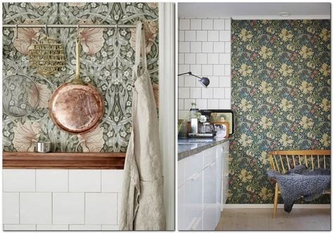 kitchen wall covering ideas kitchen wallpaper 15 suggestions for any interior getting guide decor advisor