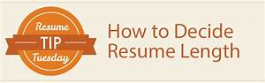 resume tip tuesday how to decide resume length careerbliss With resume scanning software litmus test