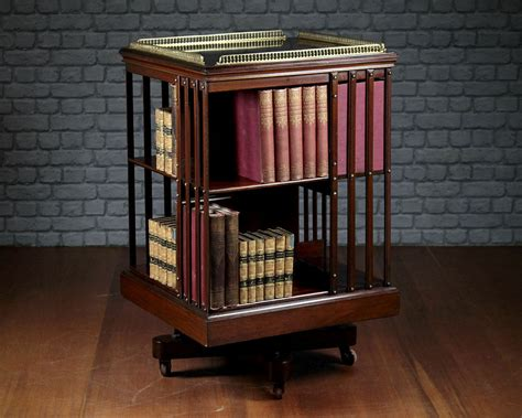 Revolving Bookcase by How To Make A Revolving Bookcase Ebay