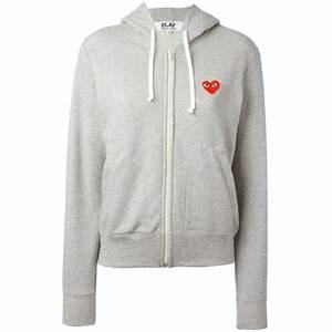 Lala Berlin Hoodie : comme des gar ons play zip hoodie women buhl fashion ~ Jslefanu.com Haus und Dekorationen