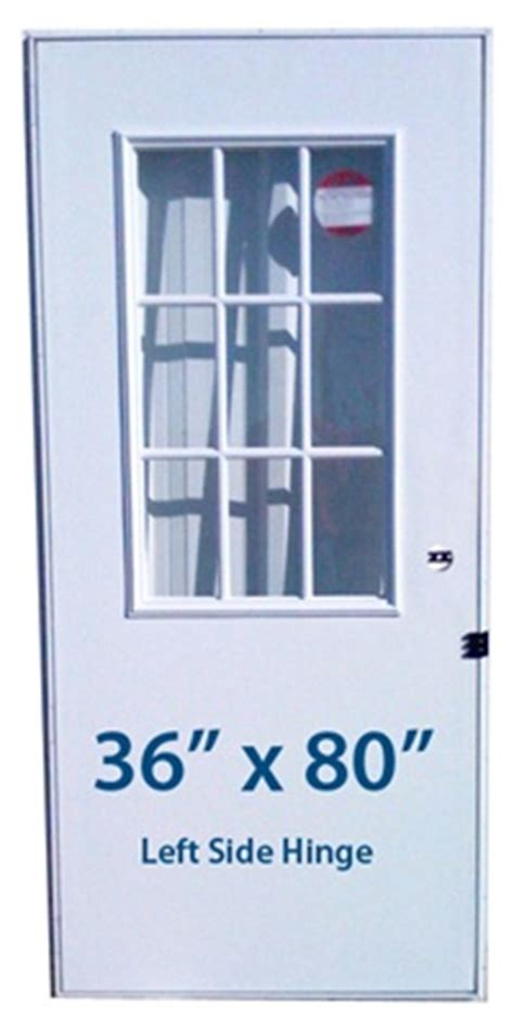 mobile home cottage door  lh left hand hinge doors