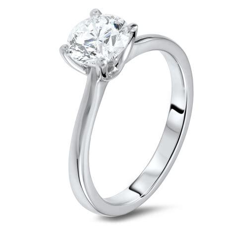 1.24 carat solitaire diamond ring – Diamondland