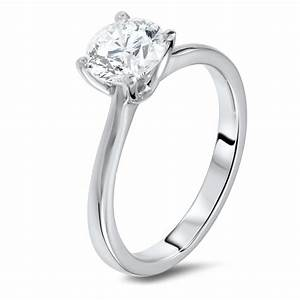 124 carat solitaire diamond ring diamondland for Dimond wedding ring