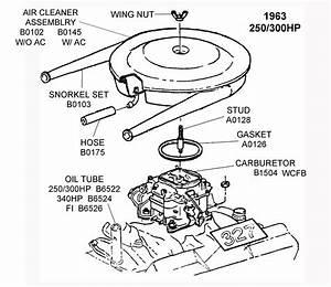 1963 250  300 Hp - Diagram View