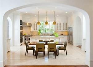 belle maison familiale dans les environs de dallas With salle À manger contemporaine avec la cuisine
