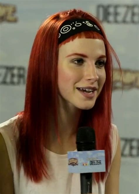 hayley williams hair steal  style page
