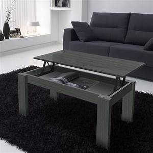 Table Basse Grise Pas Cher : table basse grise ~ Teatrodelosmanantiales.com Idées de Décoration