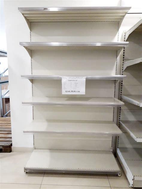 Scaffali Usati Per Supermercati scaffali self service scaffali supermercato scaffalature