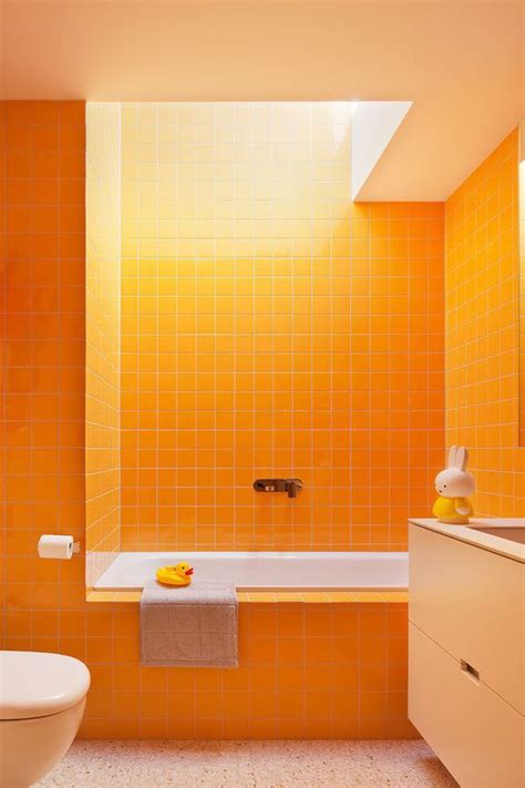 Ideas For An Orange Bathroom by 16 Ideas For Using Orange In A Bathroom