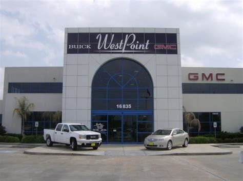 west point buick gmc houston tx  car dealership