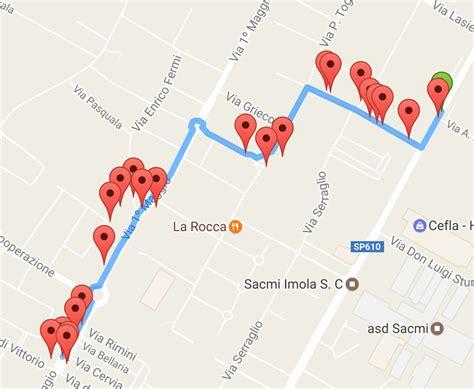 Generate Google Maps Url Display Custom Map Generated