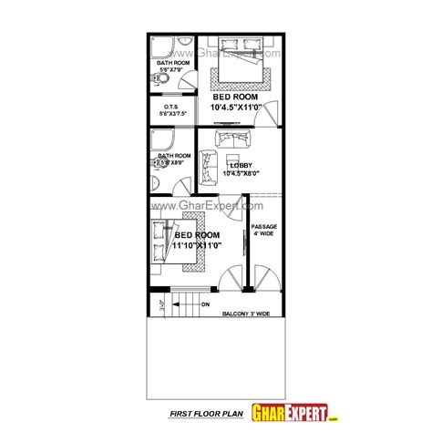 25by 50 plot size lay out plan house plan for 17 by 45 plot plot size 85 square yards gharexpert