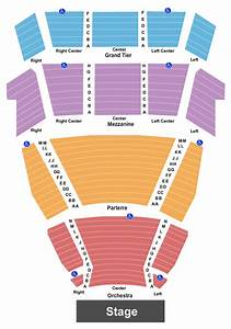 Mcallen Performing Arts Center Seating Chart