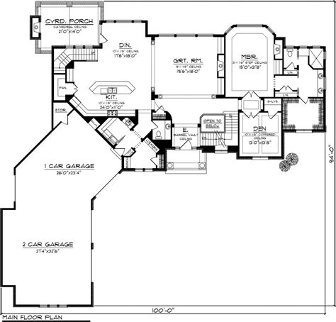 awesome  car garage house plan angled  story ranch  living quarter cost apartment