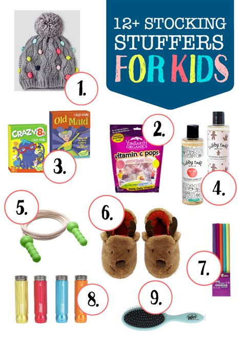 thoughtful stuffers stocking stuffer ideas for kids one lovely life