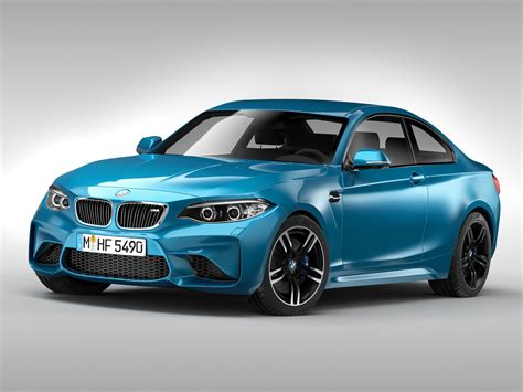 Bmw M2 Coupe 2016 3d Model Max Obj 3ds Fbx