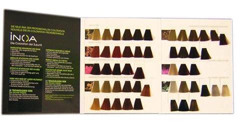 loreal professional inoa hair colour chart hair color