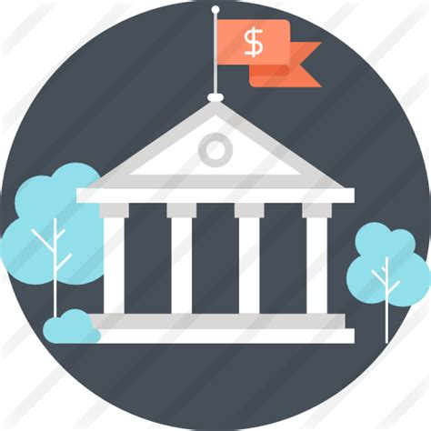 Bank Icon Bank Free Business Icons