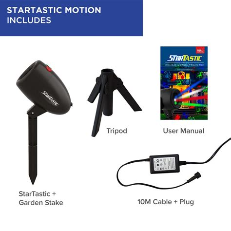 startastic motion indooroutdoor laser projector daily star
