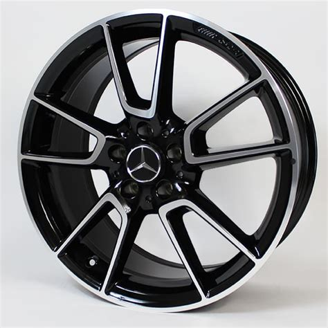19 mercedes amg forged oem wheels g550 g63 g55 factory authentic matte black. AMG 19-inch alloy-wheel-set | Mercedes-Benz C-Class W205 | 5-twin-spoke wheel | black