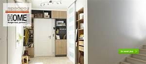 Cube De Rangement Leroy Merlin : dressing meuble de rangement et biblioth que spaceo home ~ Dailycaller-alerts.com Idées de Décoration