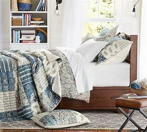 mackenna patchwork quilt sham pottery barn With bedding similar to pottery barn