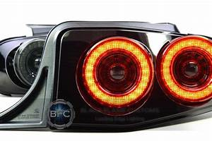 2013-2014 Ford Mustang S197 Full LED XB Replacement Tail Light Housings | BlackFlameCustoms.com