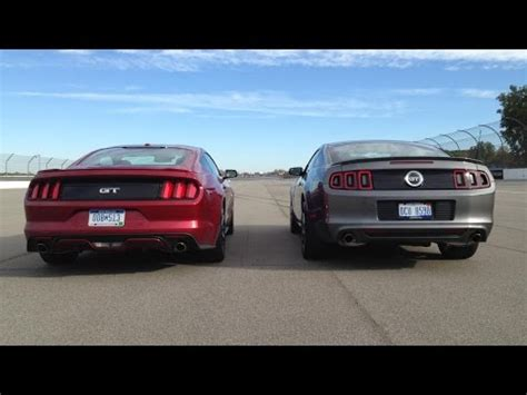 ford mustang gt comparison    youtube