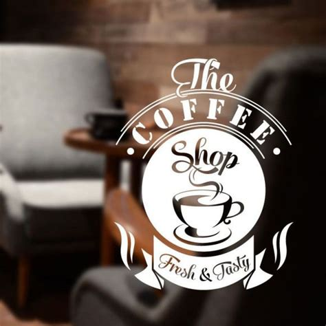 Perk up your coffee shop's brand with a logo that communicates your cafe's overall vibe even explore our menu of cafe logo designs. Coffee shop wall art sticker decal restaurant vinly cof8 #restaurant #restaurant #publicity ...