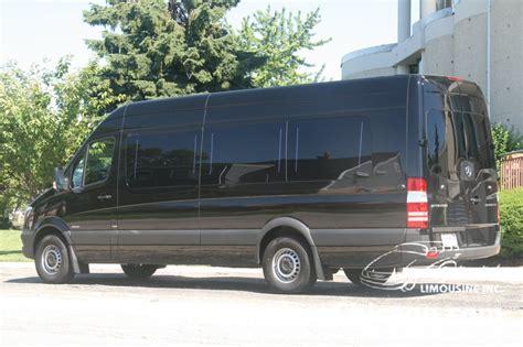 Limousine Rental Chicago by Mercedes Sprinter Limo Mercedes Sprinter Rental