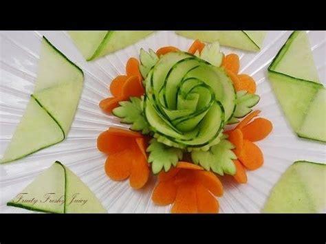 carrot flowers vegetable carving garnish
