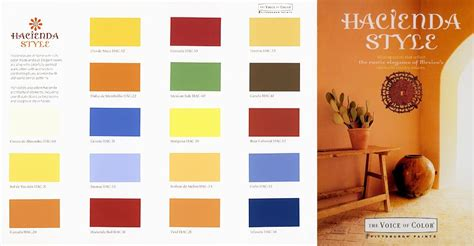 mexican colors colors hacienda style by joe p carr and witynski