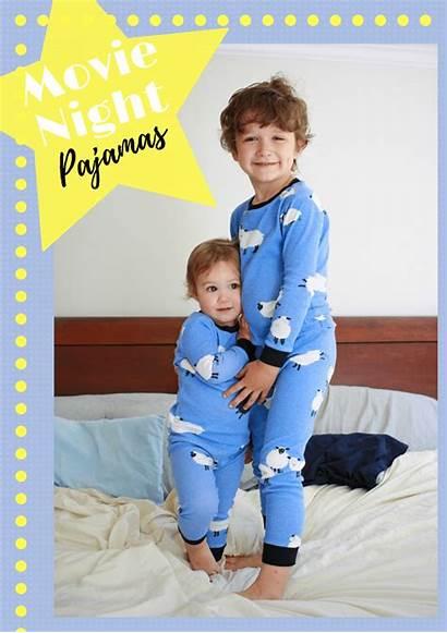 Night Pattern Pj Pajama Pajamas Boys Patterns