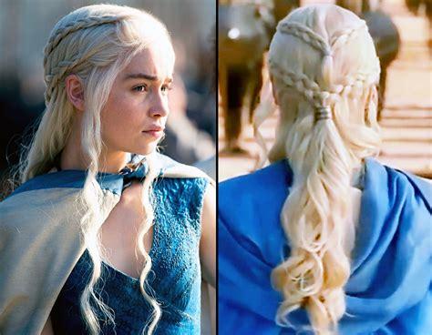 game  thrones braid tutorial copy daenerys elaborate