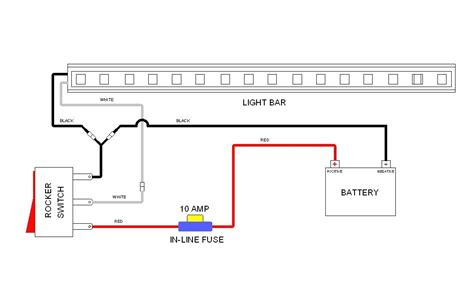 Light Bar Wiring Diagram With Wire Truck Cree Led