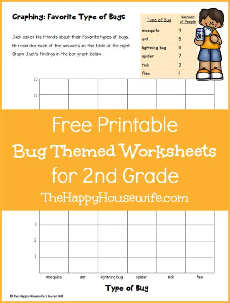 bug worksheets free printables the happy home schooling